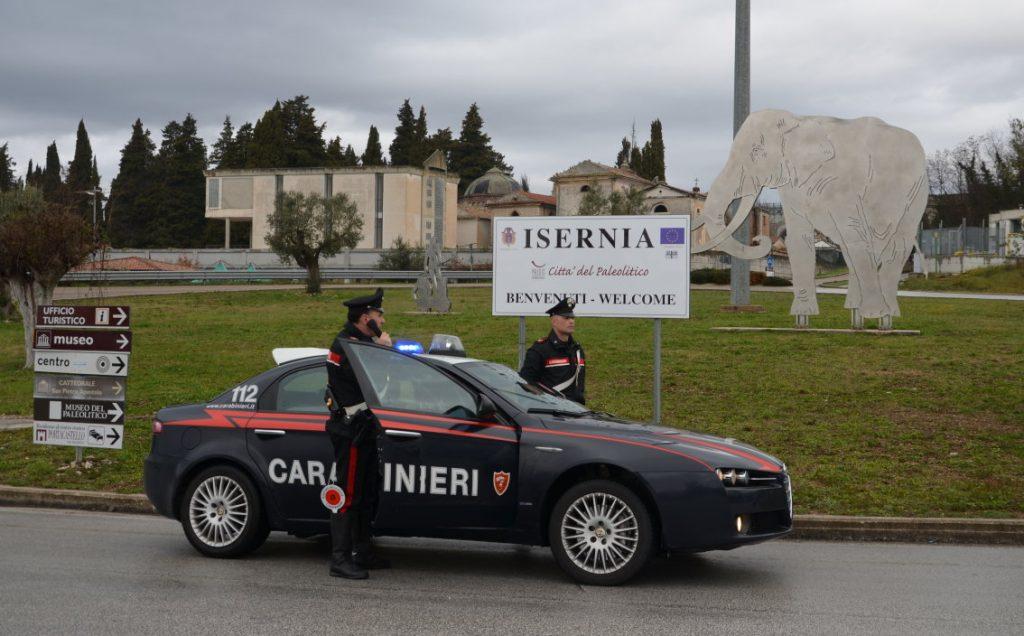 Controlli Carabinieri Isernia controlli