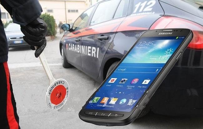 carabinieri smartphone