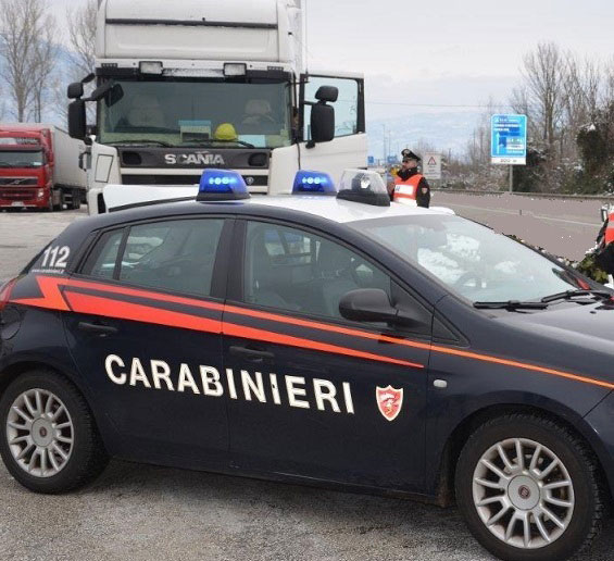 furto sventato Carabinieri