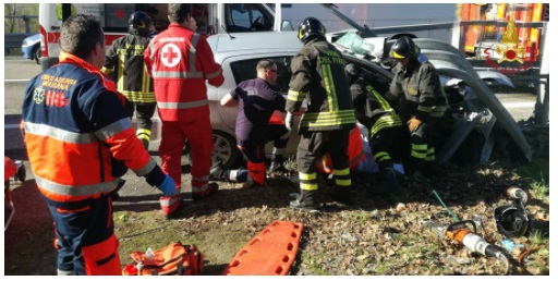 incidente auto bifernina