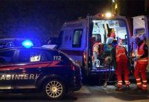 intervento Carabinieri 118