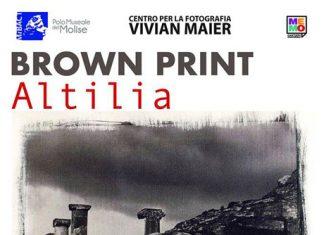 Campobasso 26 aprile torna mostra Brown Print Altilia