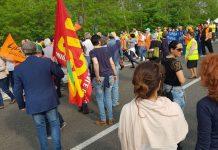 Molise manifestazione contro discarica rifiuti Matese