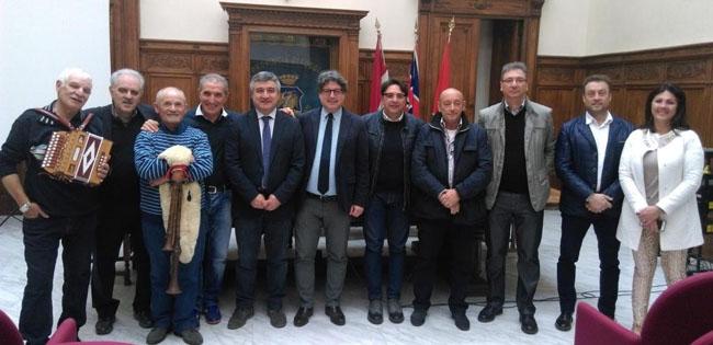 Montorio in Frentani, mondiali organetto: il sindaco passa il testimone