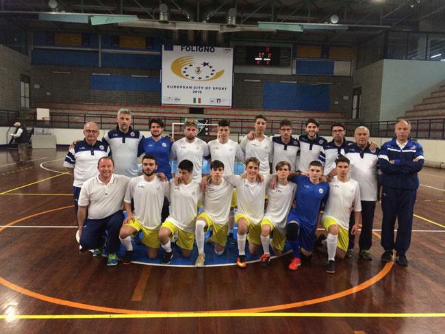 quarti finale c5 torneo regioni 2018