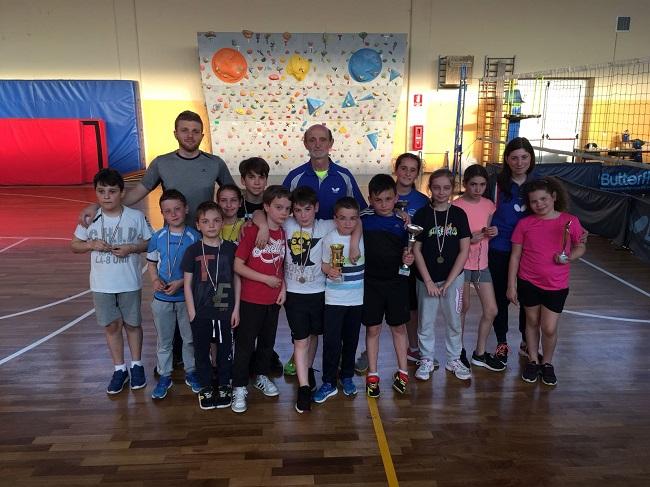 Trofeo Teverino Ping Pong Kids 2018