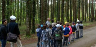Visita guidata alunni riserva naturale Montedimezzo