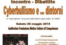 Campobasso, incontro sul cyberbullismo il 26 maggio