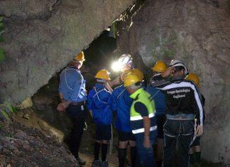 gruppo scout Agesci Campomarino visita grotta Colle Bianco