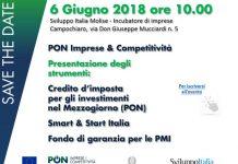 Seminario PON Imprese & Competitività 6 giugno Campochiaro