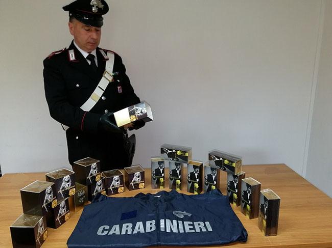 sequestro profumi carabinieri
