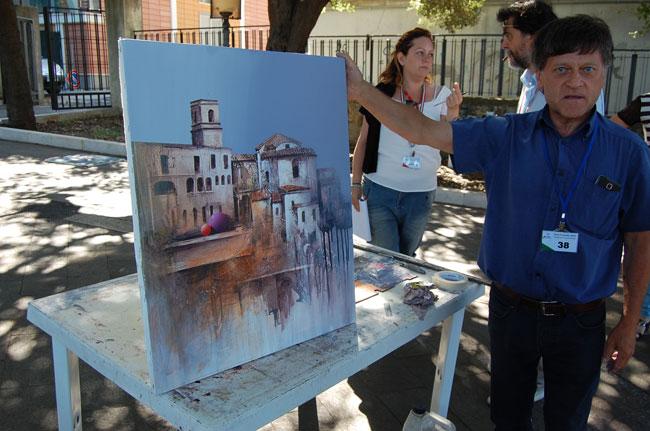 Carmine Antonio Mazziale 2° concorso estemporanea pittura