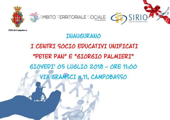 Nuovi centri socio educativi unificati Campobasso