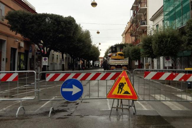 Termoli,Corso Umberto chiusura traffico 25 28 giugno