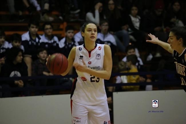 Basket Laura Reani resta Magnolia Campobasso
