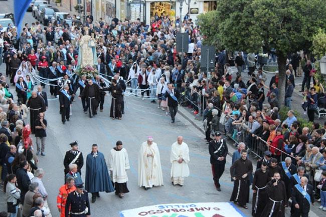 processione Madonna del Monte