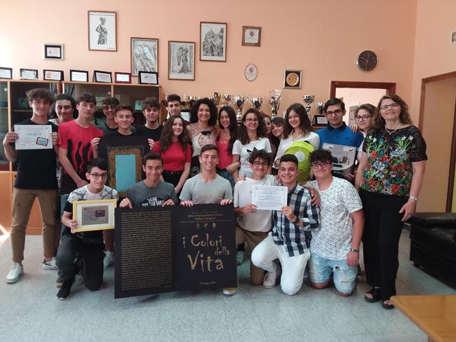 XIII concorso I Colori della Vita secondo posto istituto Alfano