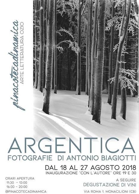 Argentica mostra fotografica di Antonio Biagiotti Campobasso