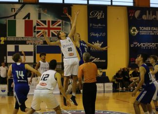 L'Italbasket conquista International Basket Challenge 'The Molise Project'