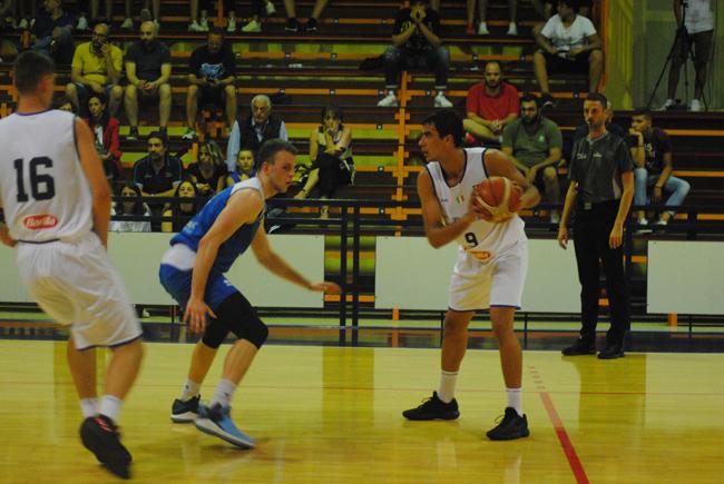 International Basket Challenge Italia brillante successo contro Ucraina