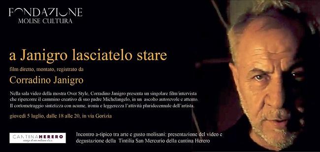 A Janigro lasciatelo stare 5 luglio film Corradino Janigro