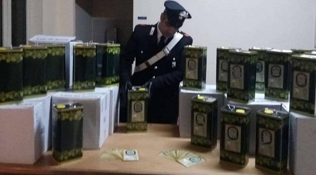 Isernia vendita olio extravergine di olive contraffatto