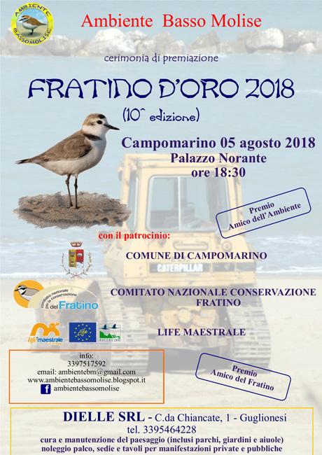 Premio Fratino d'oro 2018 Campomarino