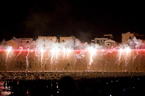 incendio del castello Termoli