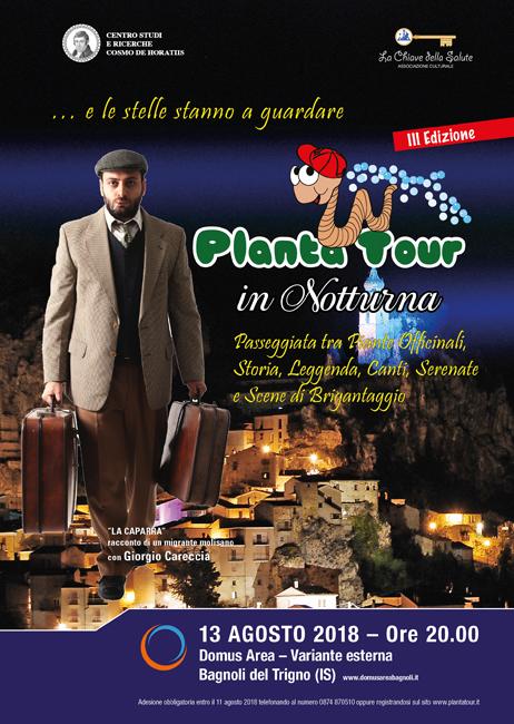 platatour notturna 2018