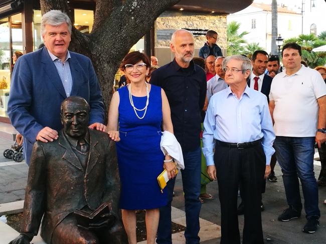 Termoli, Gennaro Perrotta: la statua in ricordo del grecista