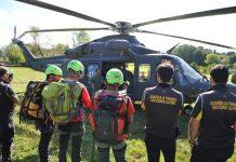 esercitazione soccorso aereo Molise