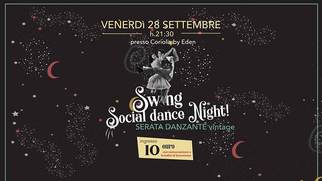 swing night 28 settembre 2018