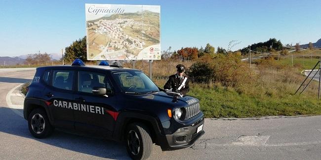 Capracotta controlli Carabinieri