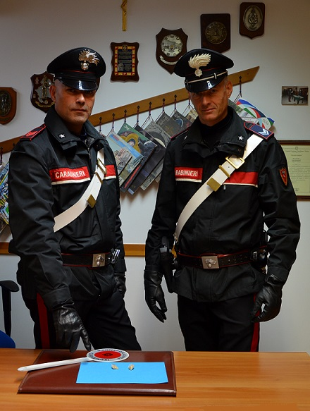 Carabinieri sequestro cobret