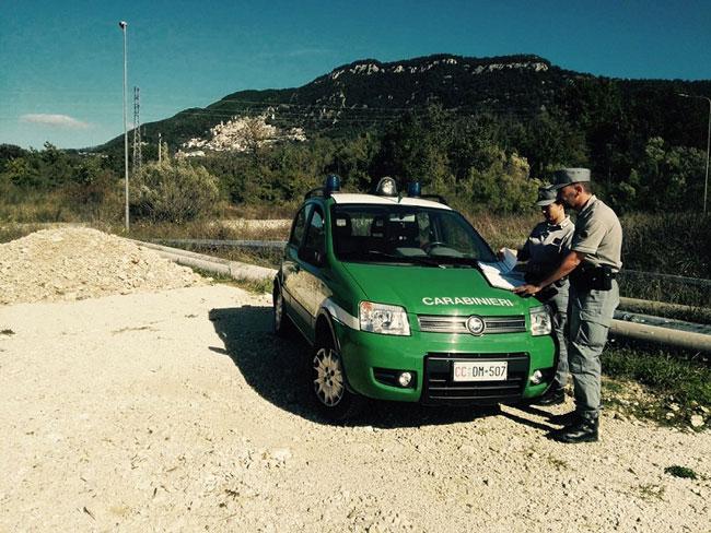 controll carabinieri forestale