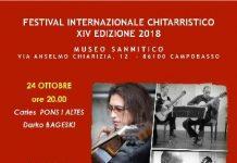 Festival Internazionale Chitarristico 2018 Campobasso