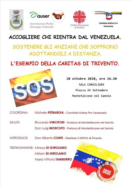 iniziativa Venezuela 20 ottobre 2018