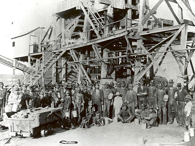 la miniera dell'Oklahoma