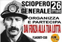 sciopero Termoli 26 ottobre 2018