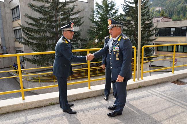 visita comandante