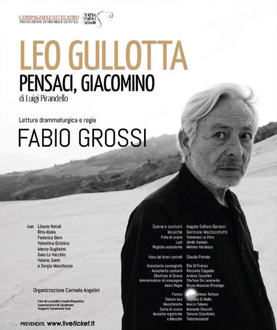 Leo Gullotta Pensaci Giacomino