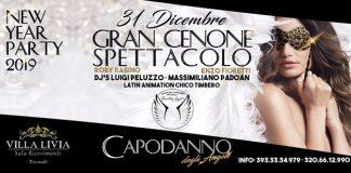 Capodanno 2019 a Termoli, Notte degli Angeli a Villa Livia