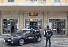carabinieri scalo ferroviario