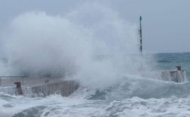 Allerta meteo. Mare agitato e vento forte