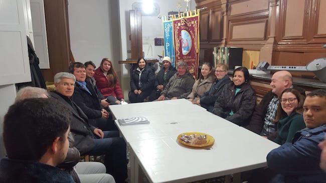 Monacilioni, riunione del  Direttivo del Comitato Molise Pro - Venezuela