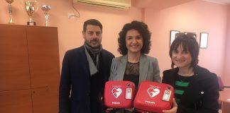 Termoli donazione defibrillatori