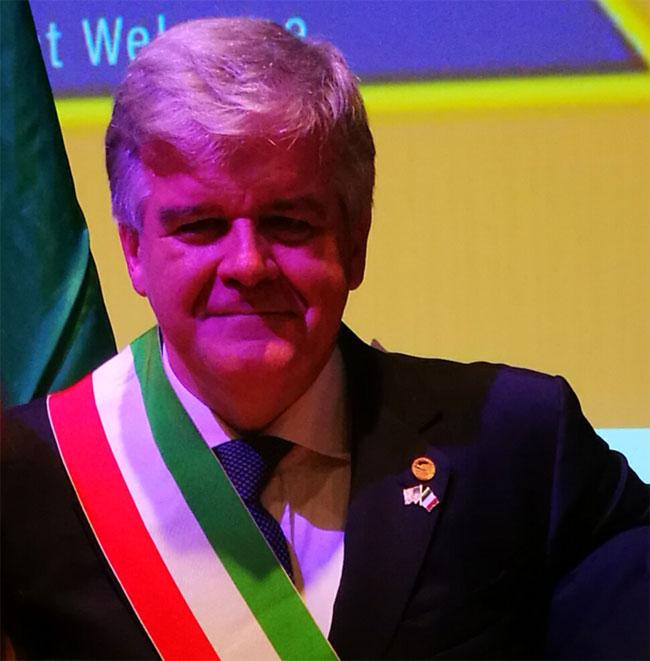 sindaco Angelo Sbrocca