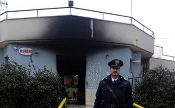 bar bruciato Pozzilli