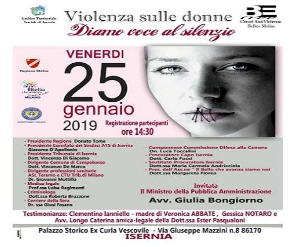 convegno violenza sulle donne