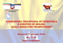 locandina venezuela 27 gennaio